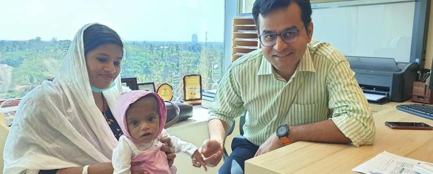 Successful Liver Transplant in Eight Month Old