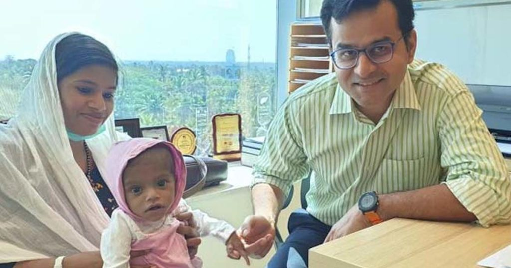 Successful Liver Transplant in 8 month old baby